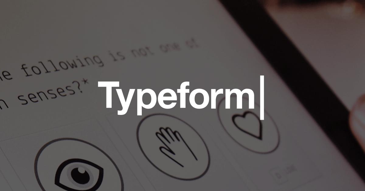 Typeform Survey Software