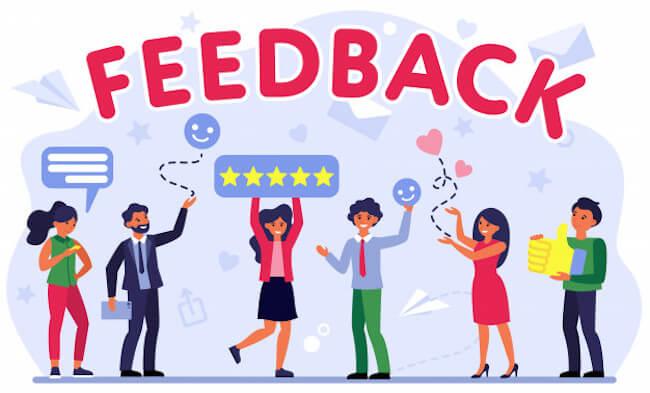 klanttevredenheid website meten - feedback