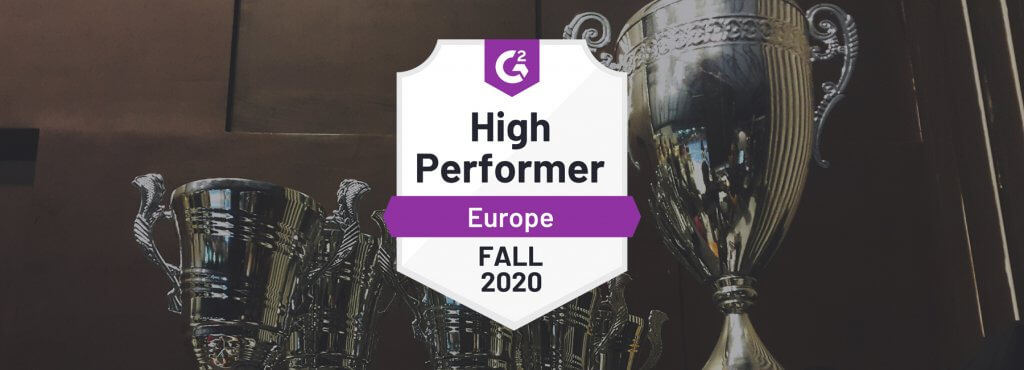 Mopinion High Performer Europe Fall 2020
