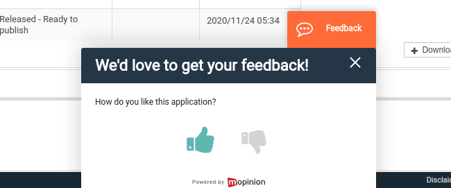 atrify feedbackform