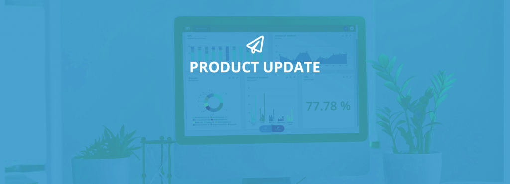 New Product Update featuring Mopinion's new onboarding process
