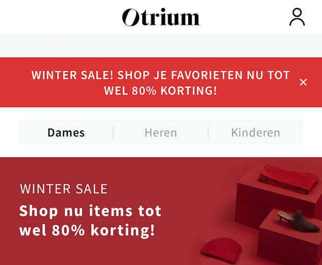 Otrium app