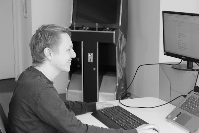 Employee in the spotlight Rudo de Graaf - office