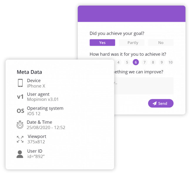 Mobile feedback