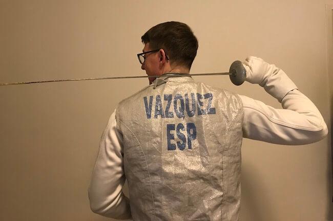 Jose-Maria Vasquez Jimenez fencing
