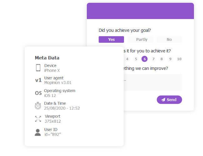 Mobile user feedback