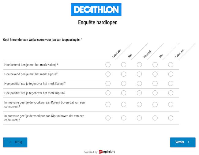 Decathlon feedbackformulier 2