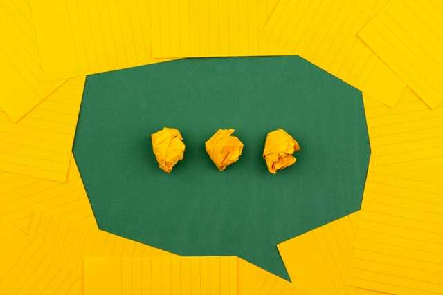 give your customers a voice speech bubble