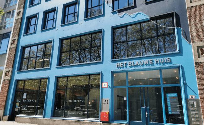 Het Blauwe Huis - Mopinion's office