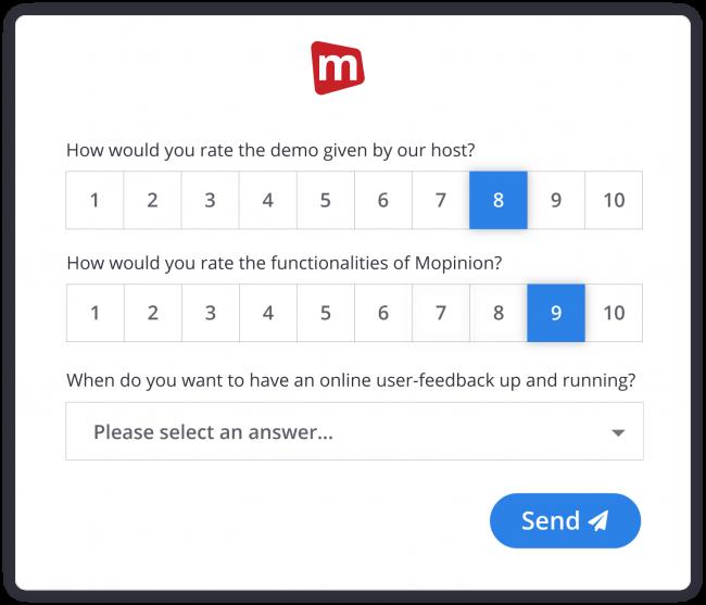 Demo survey