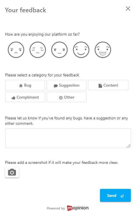 Trial survey